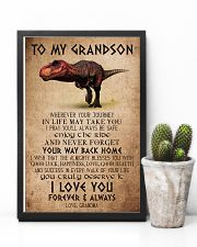 TO MY GRANDSON - T REX - ALMIGHTY 16x24 Poster lifestyle-poster-8