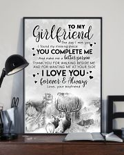 TO MY GIRLFRIEND - DEER - THE DAY I MET YOU 16x24 Poster lifestyle-poster-2