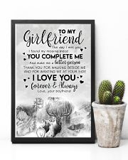 TO MY GIRLFRIEND - DEER - THE DAY I MET YOU 16x24 Poster lifestyle-poster-8
