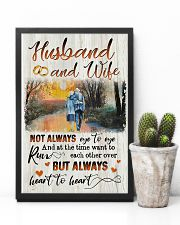 Husband and Wife - Heart To Heart - Poster 16x24 Poster lifestyle-poster-8