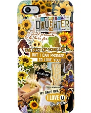 To My Daughter - Sunflower - Phonecase Phone Case i-phone-8-case