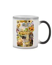To My Daughter - Sunflower - Phonecase Color Changing Mug tile
