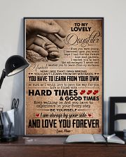 TO MY LOVELY DAUGHTER 16x24 Poster lifestyle-poster-2