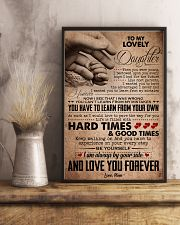 TO MY LOVELY DAUGHTER 16x24 Poster lifestyle-poster-3