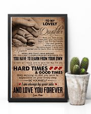 TO MY LOVELY DAUGHTER 16x24 Poster lifestyle-poster-8