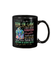 TO MY SON-IN-LAW - DRAGON - CIRCUS Mug front