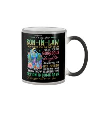 TO MY SON-IN-LAW - DRAGON - CIRCUS Color Changing Mug thumbnail