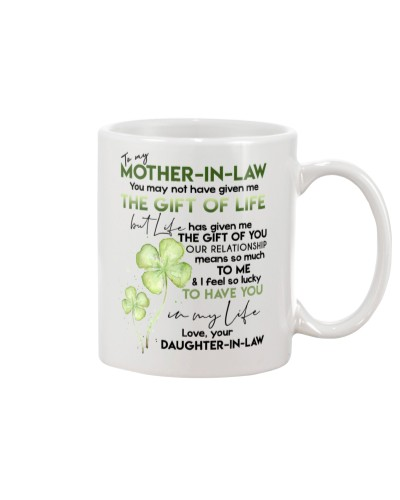DAUGHTER TO MOTHER-IN-LAW