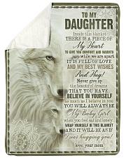 To My Daughter - Inside This Blanket Sherpa Fleece Blanket tile