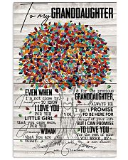 Grandma to Granddaughter - You Were My New Dream 16x24 Poster front
