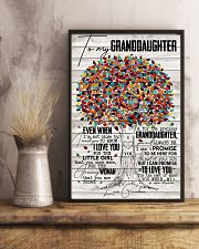 Grandma to Granddaughter - You Were My New Dream 16x24 Poster lifestyle-poster-3