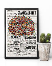 Grandma to Granddaughter - You Were My New Dream 16x24 Poster lifestyle-poster-8