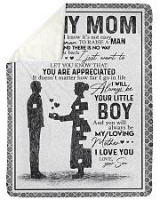 "SON TO MOM Large Sherpa Fleece Blanket - 60"" x 80"" thumbnail"