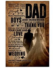 To My Dad - Wedding Day - Poster 16x24 Poster front