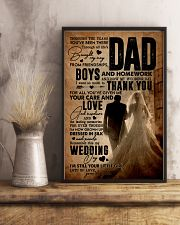 To My Dad - Wedding Day - Poster 16x24 Poster lifestyle-poster-3
