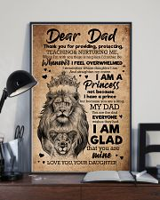 TO MY DAD - LIONS - THANK YOU FOR PROVIDING 16x24 Poster lifestyle-poster-2