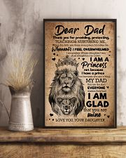TO MY DAD - LIONS - THANK YOU FOR PROVIDING 16x24 Poster lifestyle-poster-3