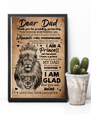 TO MY DAD - LIONS - THANK YOU FOR PROVIDING 16x24 Poster lifestyle-poster-8