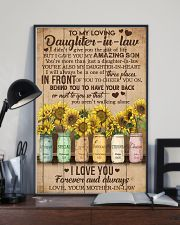 TO MY DAUGHTER-IN-LAW - SUNFLOWER - I LOVE YOU 16x24 Poster lifestyle-poster-2