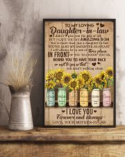 TO MY DAUGHTER-IN-LAW - SUNFLOWER - I LOVE YOU 16x24 Poster lifestyle-poster-3