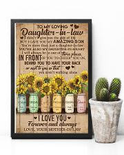 TO MY DAUGHTER-IN-LAW - SUNFLOWER - I LOVE YOU 16x24 Poster lifestyle-poster-8