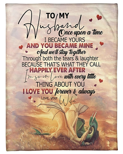 TO MY HUSBAND - DRAGON - I LOVE YOU