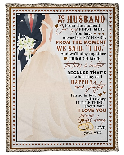 TO MY HUSBAND - COUPLE - I LOVE YOU