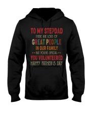 TO MY STEPDAD - VINTAGE - YOU VOLUNTEERED Hooded Sweatshirt thumbnail