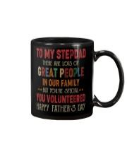 TO MY STEPDAD - VINTAGE - YOU VOLUNTEERED Mug thumbnail