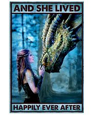 Dragon Queen - And She Lived Happily Ever After  16x24 Poster front