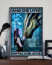 Dragon Queen - And She Lived Happily Ever After  16x24 Poster lifestyle-poster-2