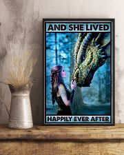 Dragon Queen - And She Lived Happily Ever After  16x24 Poster lifestyle-poster-3