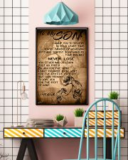 TO MY SON 16x24 Poster lifestyle-poster-6