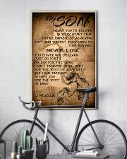 TO MY SON 16x24 Poster lifestyle-poster-7
