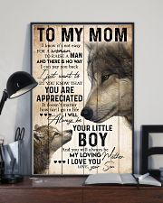 TO MY MOM - WOLF - YOU ARE APPRECIATED 16x24 Poster lifestyle-poster-2