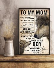 TO MY MOM - WOLF - YOU ARE APPRECIATED 16x24 Poster lifestyle-poster-3