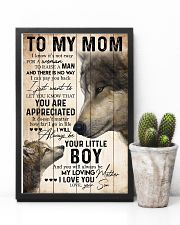 TO MY MOM - WOLF - YOU ARE APPRECIATED 16x24 Poster lifestyle-poster-8