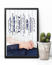 To Granddaughter - Enjoy The Everything - Poster 16x24 Poster lifestyle-poster-8
