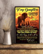 DAD TO DAUGHTERS 16x24 Poster lifestyle-poster-3