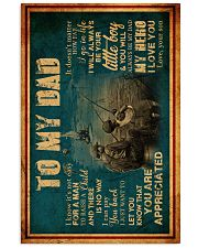 To My Dad - Fishing - Poster 16x24 Poster front