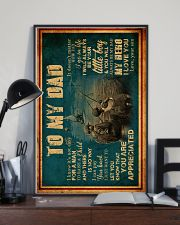 To My Dad - Fishing - Poster 16x24 Poster lifestyle-poster-2