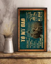 To My Dad - Fishing - Poster 16x24 Poster lifestyle-poster-3