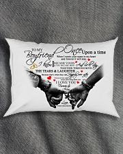 TO MY BOYFRIEND Rectangular Pillowcase aos-pillow-rectangle-front-lifestyle-1