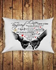 TO MY BOYFRIEND Rectangular Pillowcase aos-pillow-rectangle-front-lifestyle-2