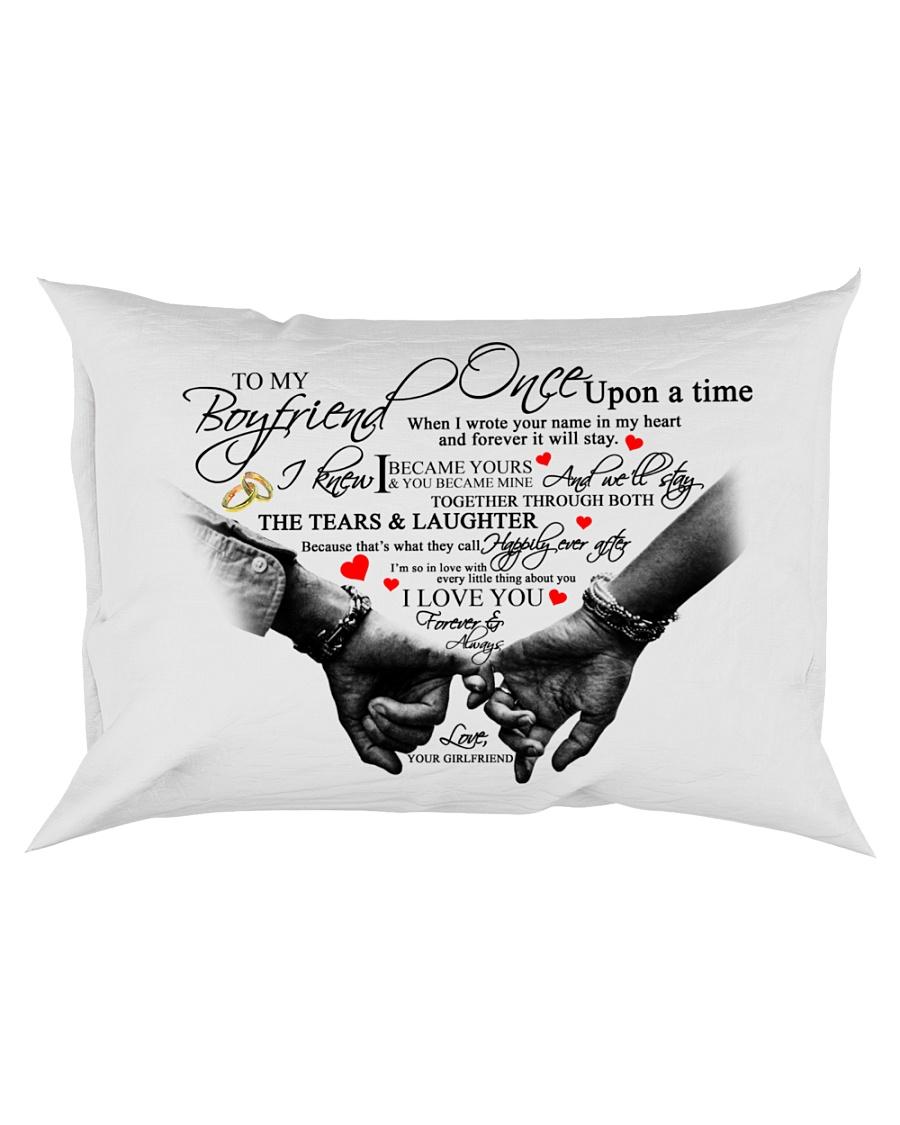 TO MY BOYFRIEND Rectangular Pillowcase