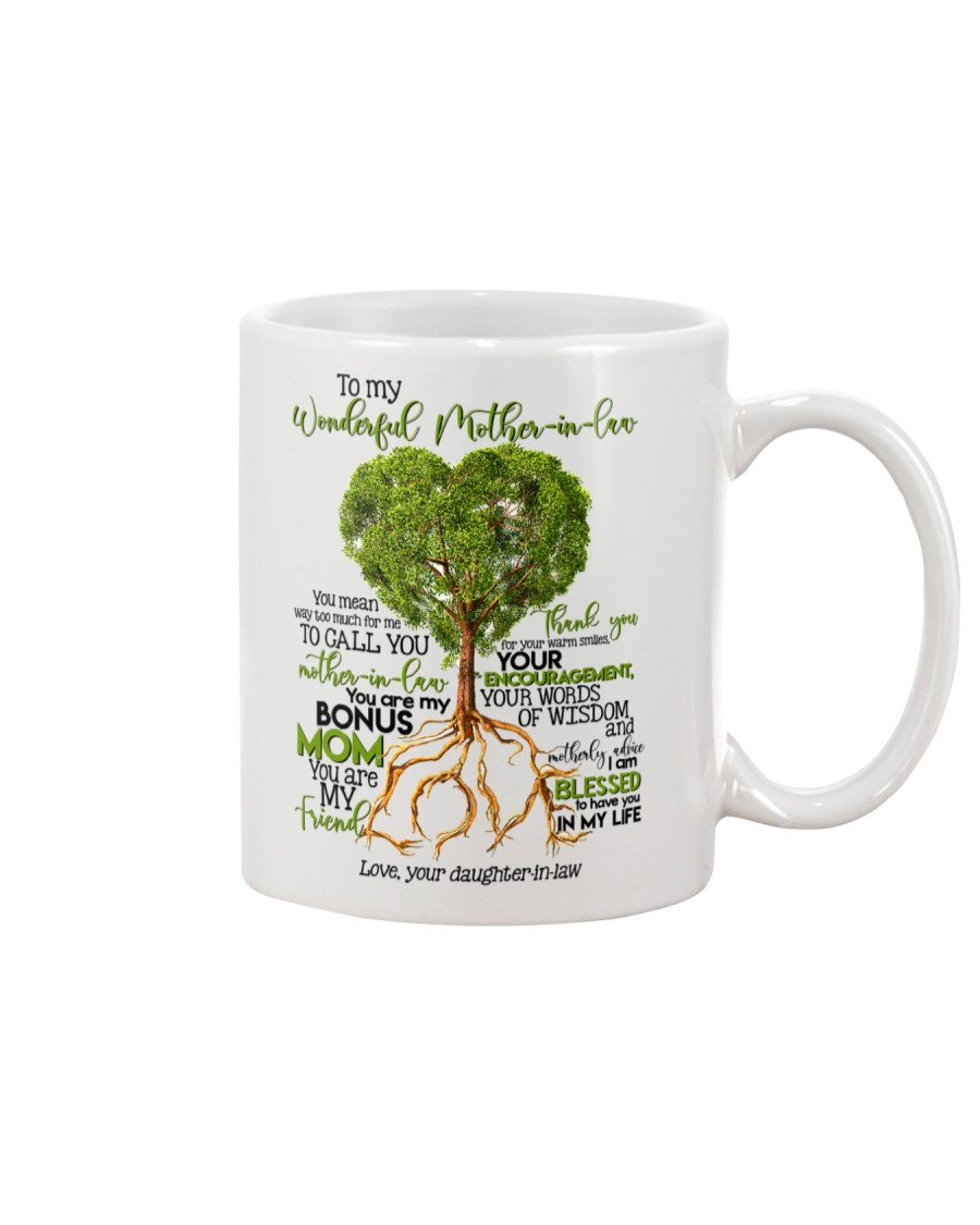 TO MY MOTHER-IN-LAW - TREE Mug