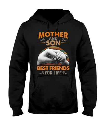 MOM AND SON - BEST FRIENDS - FOR LIFE