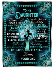 "Daughter - Cross - Once Upon A Time Small Fleece Blanket - 30"" x 40"" front"