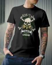SON-IN-LAW - SKULL - THE MAN THE MYTH THE LEGEND Classic T-Shirt lifestyle-mens-crewneck-front-6