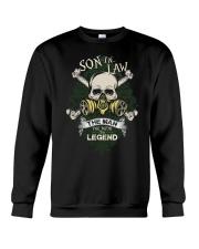 SON-IN-LAW - SKULL - THE MAN THE MYTH THE LEGEND Crewneck Sweatshirt thumbnail